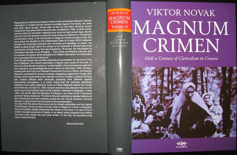 Magnum Crimen Book
